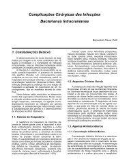 Complicações cirúrgicas das infecções bacterianas intracranianas