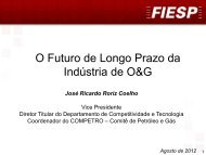 O Futuro de Longo Prazo da Indústria de O&G - Fiesp