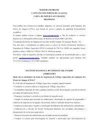 Carta de Serviços ao Cidadão - Marinha do Brasil