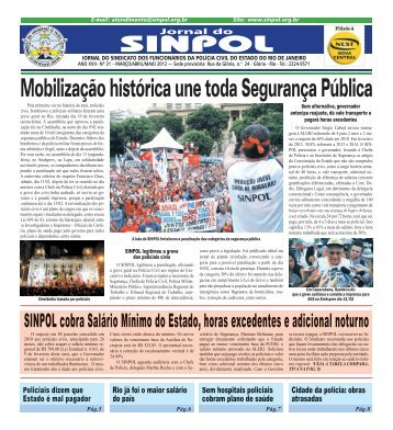 Páginas 1 à 8 - SINPOL