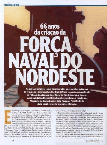 FORÇ NAVAL D0 ORDESTE - Marinha do Brasil
