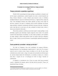Tempo profundo e questões cognitivas Como podemos ... - Unicamp