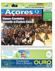 Edição impressa Clique aqui para fazer download ... - Jornal Açores 9