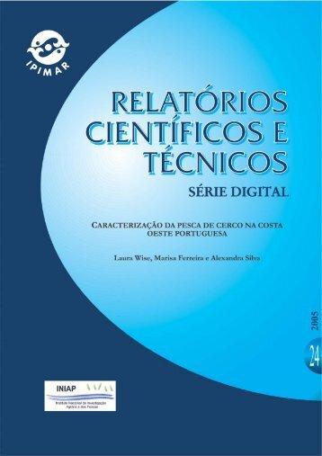 Caracterização da Pesca de Cerco na Costa Oeste Portuguesa - INRB