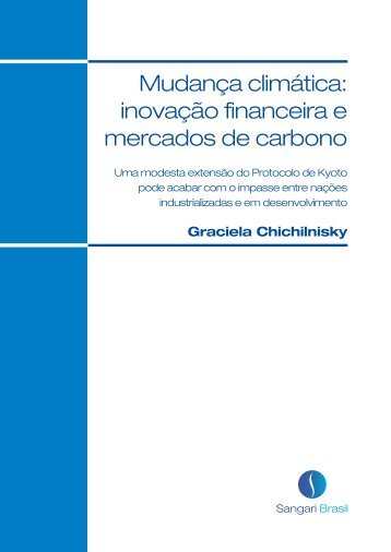 Mudança climática: inovação financeira e mercados de carbono