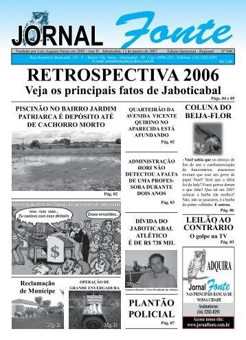 Edição 40 - Jornal Fonte