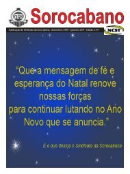 Baixar o jornal - Sinfer.org.br