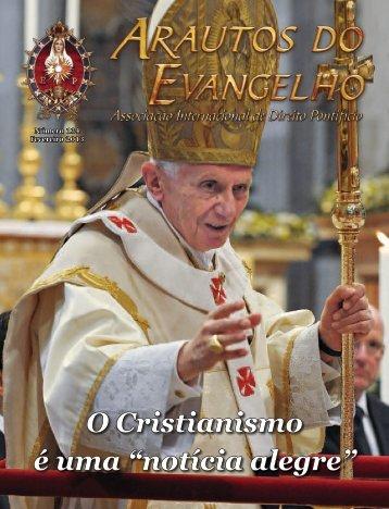 notícia alegre - Revista Arautos do Evangelho