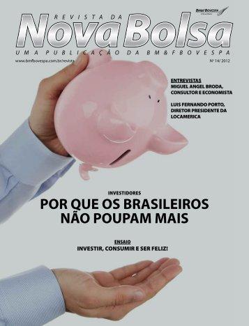 POR QUE OS BRASILEIROS NÃO POUPAM MAIS - BM&FBovespa