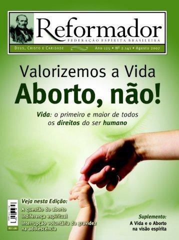 reformador agosto 2007 - a.qxp - Federação Espírita Brasileira