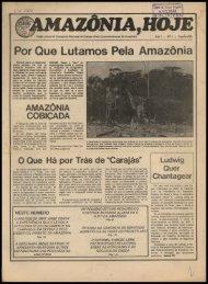 Por Que Lutamos Pela Amazônia - Centro de Documentação e ...