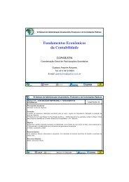 Fundamentos Econômicos da Contabilidade - Esaf