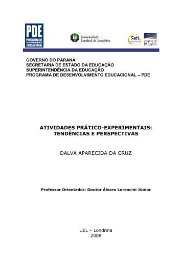 Atividades prático-experimentais: tendências e perspectivas