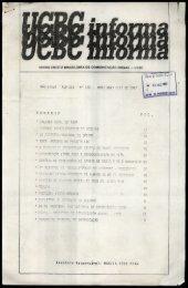 UCBC Informa - Centro de Documentação e Pesquisa Vergueiro