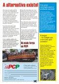 Folheto contra a privatização do sector ferroviário - Page 2