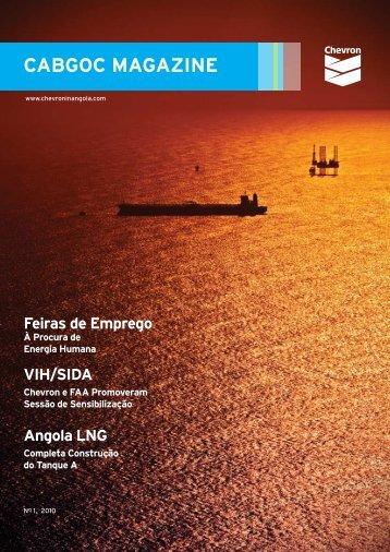CABGOC Magazine 01 - Início