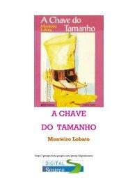 Monteiro Lobato - A Chave do Tamanho (pdf) (rev)