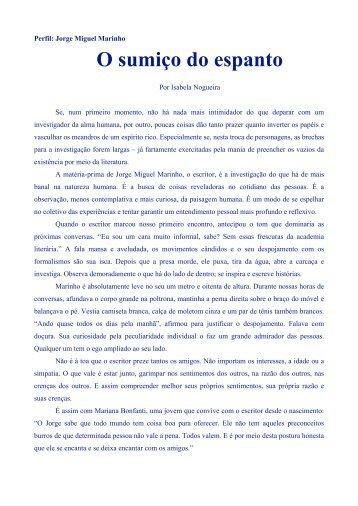 O sumiço do Espanto por Isabela Nogueira - Casa do Jorge