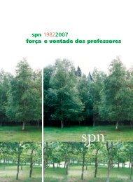Revista nº 20, Novembro 2007 - Sindicato dos Professores do Norte