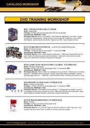 Catálogo de Produtos - Workshop Seminários Práticos