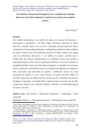 198 Arte Oratória e Democracia Participativa: breve ... - IDAES