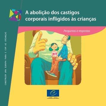 A abolição dos castigos corporais infligidos às ... - Council of Europe