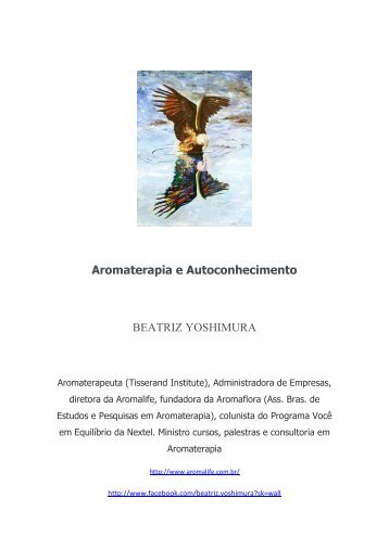 Aromaterapia e Autoconhecimento BEATRIZ YOSHIMURA