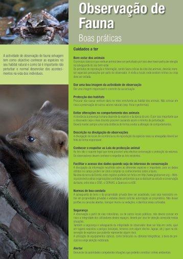 Observação de Fauna - Liga para a Protecção da Natureza