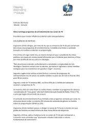 Clipping 05/01/2012 1ª Edição - Abert