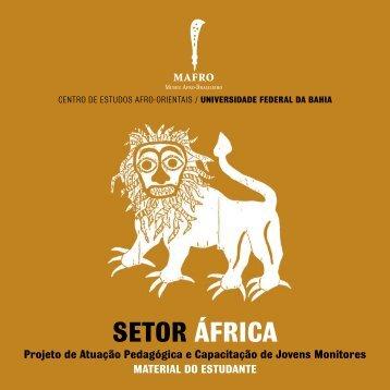 setor áfrica - MAFRO - Museu Afro-Brasileiro - UFBA - Universidade ...