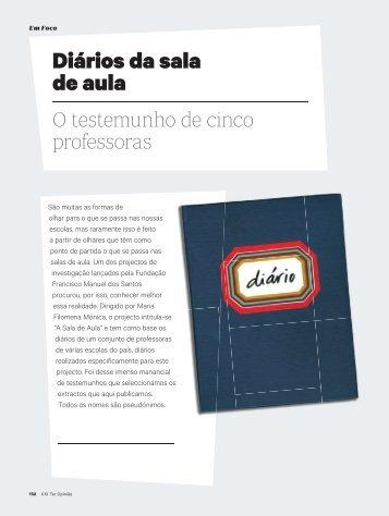 Diários da sala de aula - Fundação Francisco Manuel dos Santos