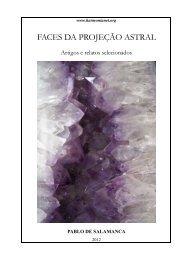 Livro 10 - FACES DA PROJEÇÃO ASTRAL - grupo harmonianet