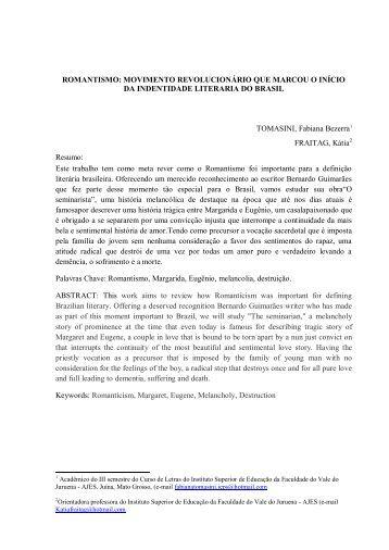 MOVIMENTO REVOLUCIONÁRIO QUE MARCOU O ... - revista ajes