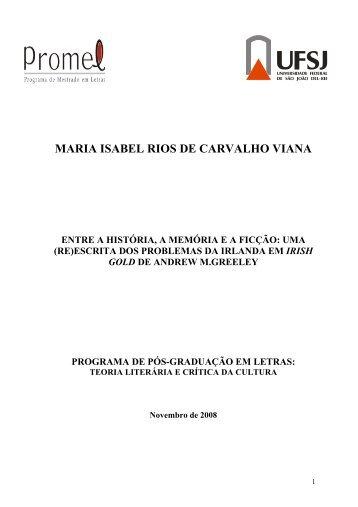 NORMAS TCNICAS PARA ELABORAO DA DISSERTAO - UFSJ