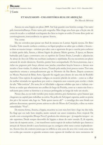 Et Mazzaropi – Uma história real de abdução ... - Revista Blecaute