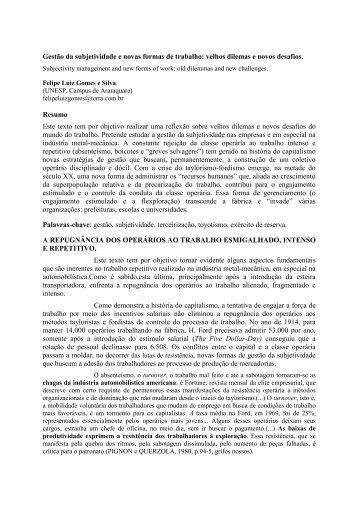 Por FELIPE LUIZ GOMES E SILVA - IELA