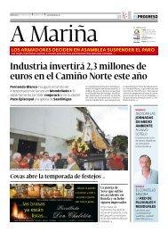 Industria invertirá 2,3 millones de euros en el Camiño Norte este año