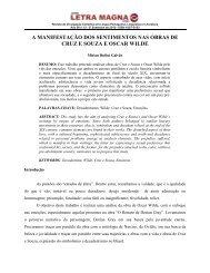 Ensaio sobre a vaidade - Revista Letra Magna