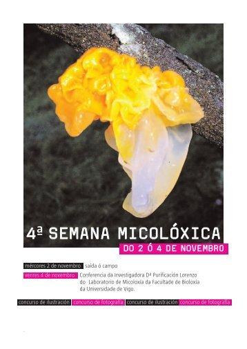 Cuarta semana micolóxica