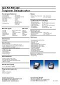 ICS-PZ RW 420 Tragbarer Belegdrucker - ICS Identcode Systeme AG - Page 2
