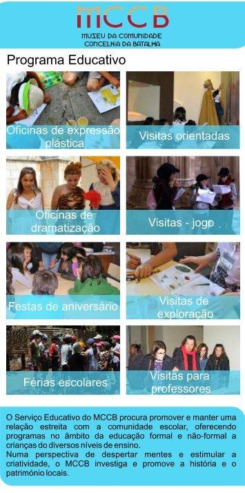 Flyer_Serviço Educativo - O museu de todos