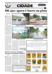 BR 491: agora é barro na pista - Jornal dos Lagos