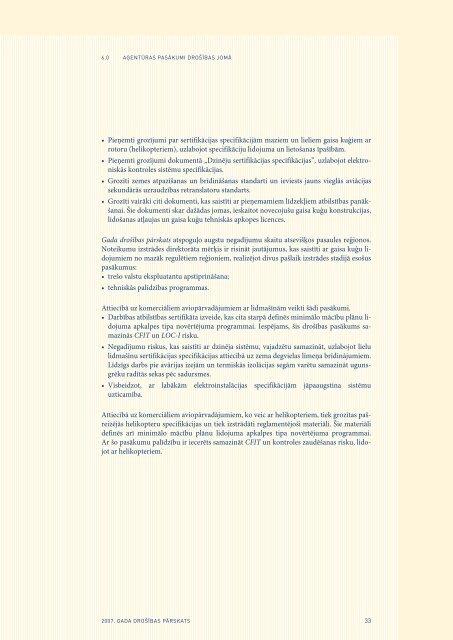 2007. gada drošības pārskats - EASA - Europa