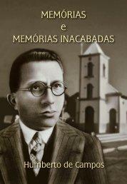 MEMÓRIAS e MEMÓRIAS INACABADAS - Instituto Geia