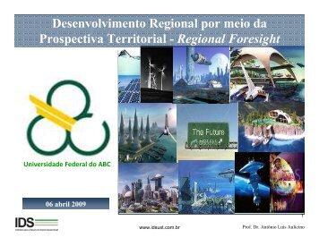 Desenvolvimento Regional por meio da Prospectiva Territorial ...