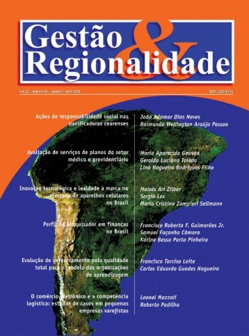 Revista de Gestão & Regionalidade - USCS