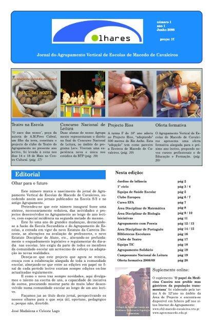 Jornal do Agrupamento Vertical de Escolas de Macedo