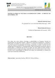 POLÍTICAS PÚBLICAS VOLTADAS AO HOMEM DO CAMPO – O ...