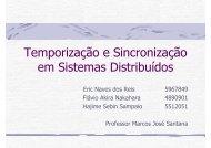 Temporização e Sincronização em Sistemas Distribuídos - LaSDPC