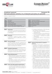 CGA indennità giornaliera di paternità - PDF (53Kb) - Groupe Mutuel